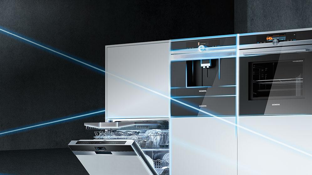 siemens k hlschrank mit home connect moderne haushaltsger te aktuelles k chen bielefeld. Black Bedroom Furniture Sets. Home Design Ideas