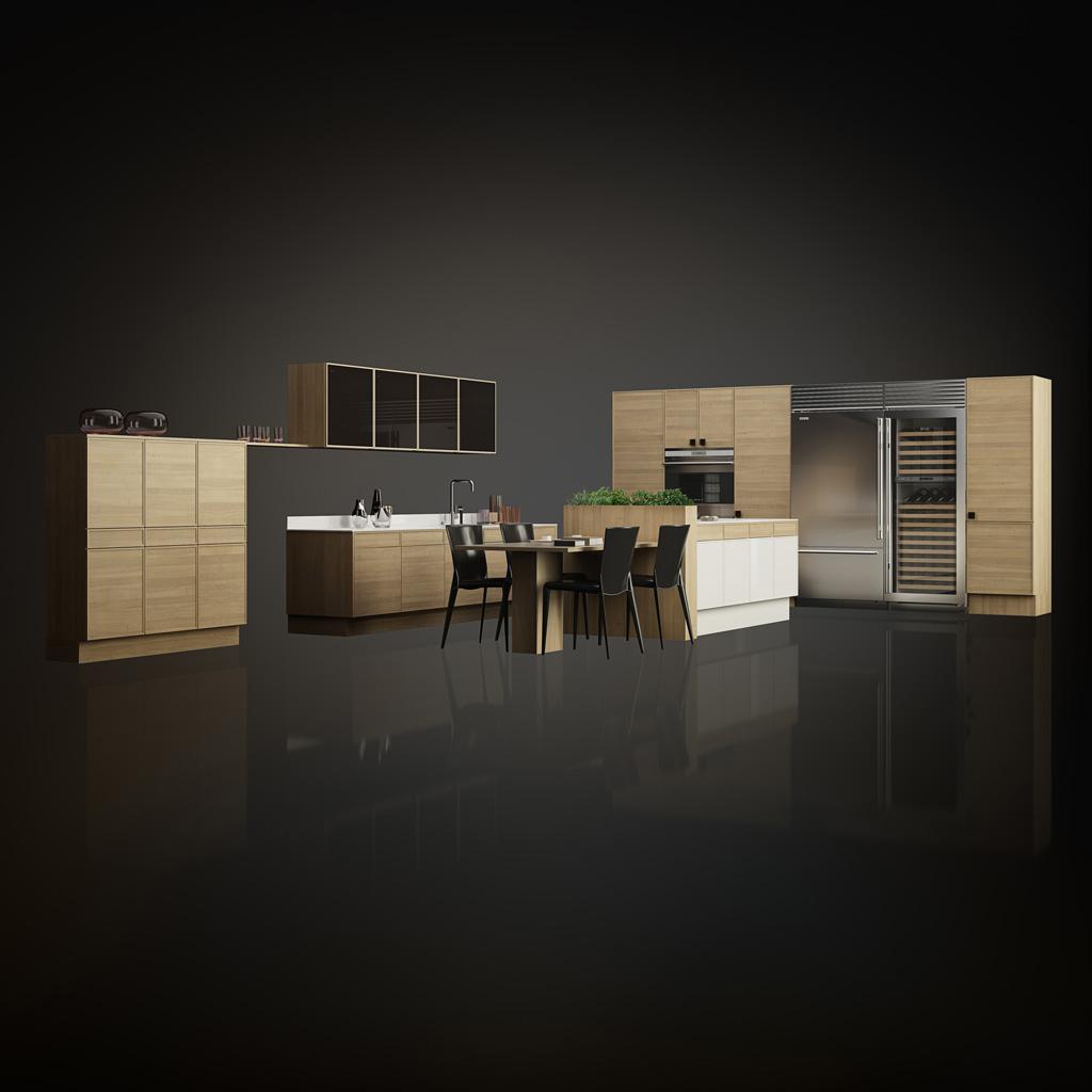 poggenpohl k chen bielefeld studio erich pohl. Black Bedroom Furniture Sets. Home Design Ideas